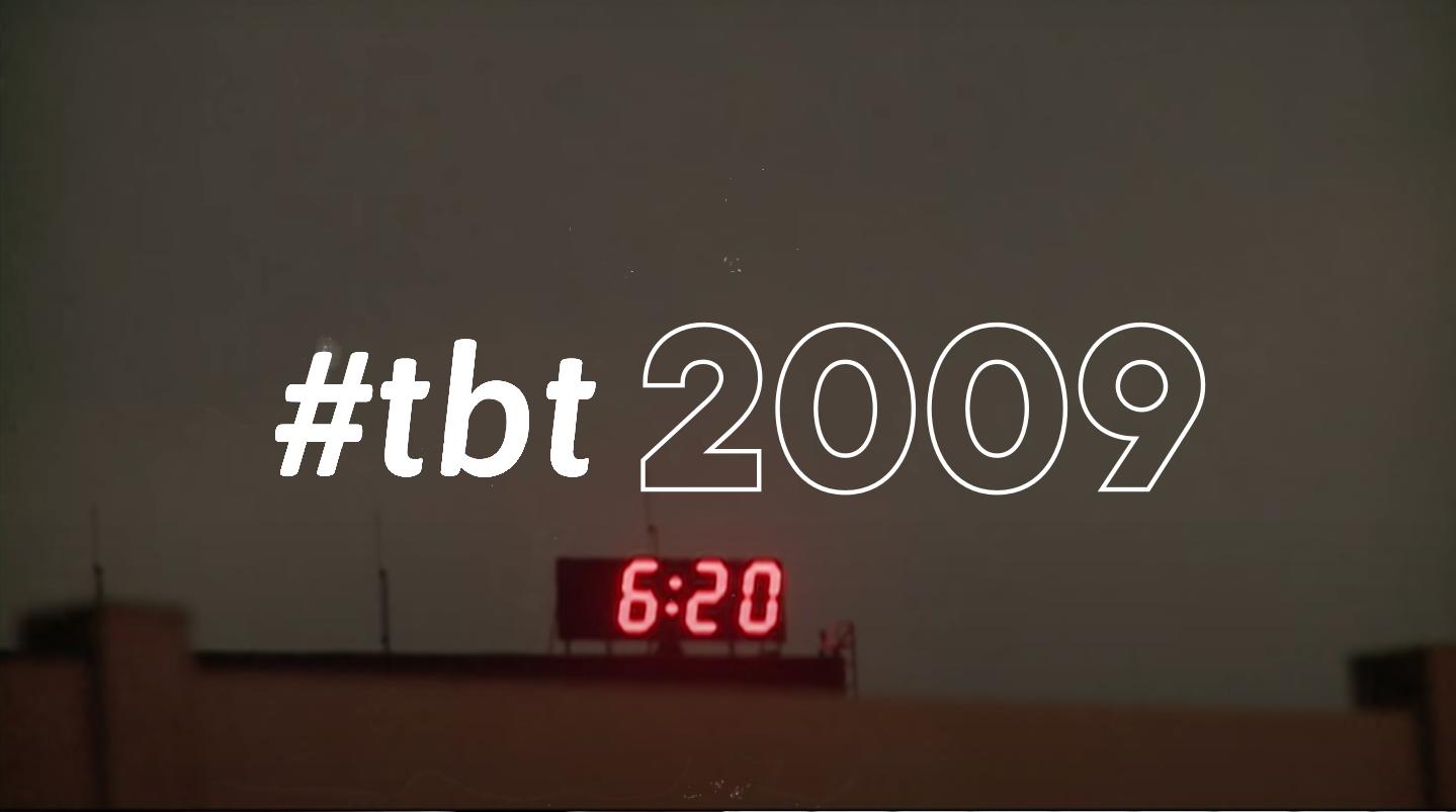 #tbt: 2009 highlight